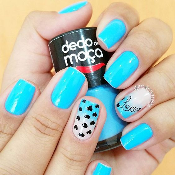 """Ola minhas queridas!!! Como vocês estão? Quem curtiu essas aqui? Mais uma com o esmalte top da @lojasdedodemoca"" Photo taken by @marrynails on Instagram, pinned via the InstaPin iOS App! http://www.instapinapp.com (09/02/2015)"