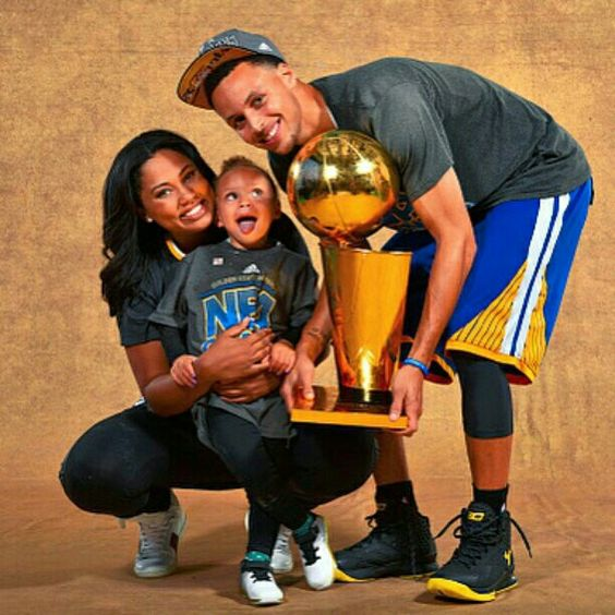 """Way up, I feel blessed."" - Riley Curry/Drake #NBAFinals"