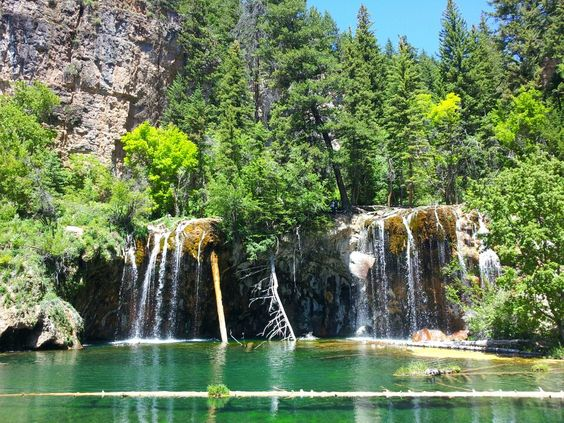 Hanging Lake in Glenwood Springs, CO.  This was our hardest hike.