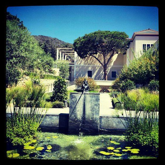 """@dbwestin: """"#Getty herb garden"""" (Taken with instagram)"""