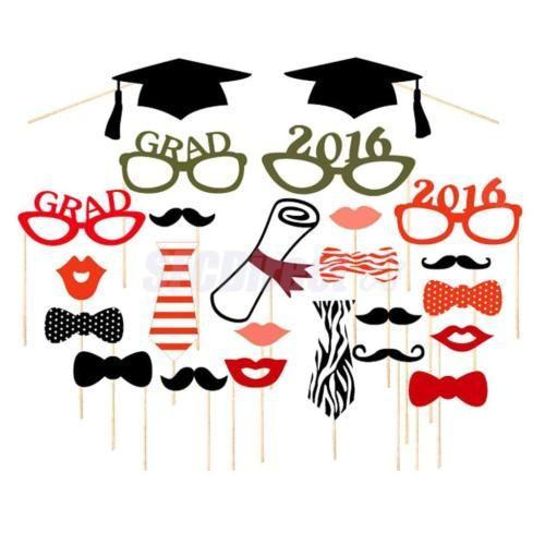 Grad-2016-Glasses-Photo-Booth-Props-on-Sticks-Set-of-24pcs