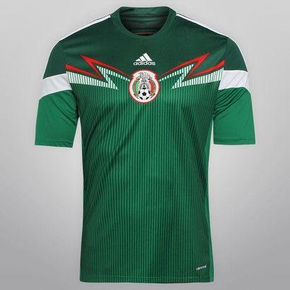 Netshoes -  Camisa Adidas Seleção México Home 2014 s/nº
