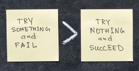 Warum du heute mindestens einmal scheitern solltest