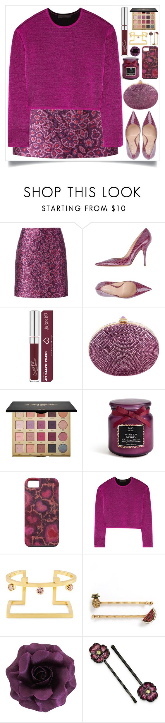 """Top Fashion Sets for Feb 13th, 2017"" by itsybitsy62 ❤ liked on Polyvore featuring Lanvin, Casadei, Judith Leiber, tarte, Alexander Wang, Joomi Lim, Marc by Marc Jacobs and 1928"