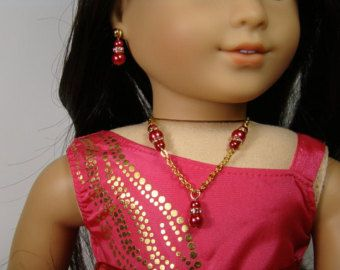 Antik Messing und Kristall Stecker Halskette von BFFandMEJewelry