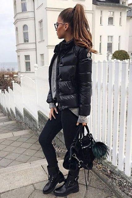 Prepárate para el frío. Una selección de elegantes #chaquetas de plumas voluminosas