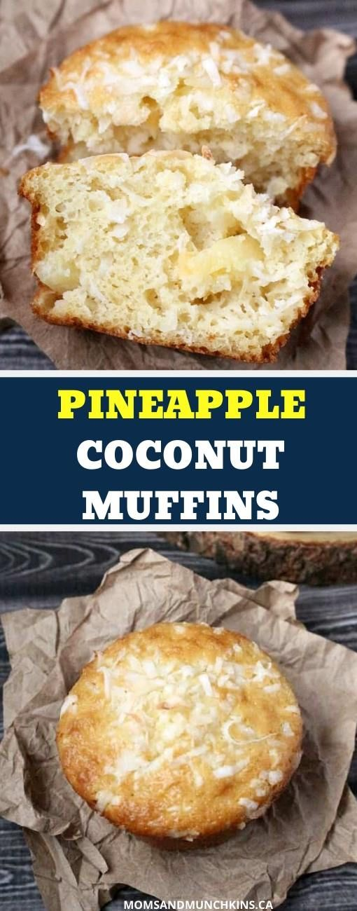 Pineapple Coconut Muffin Recipe