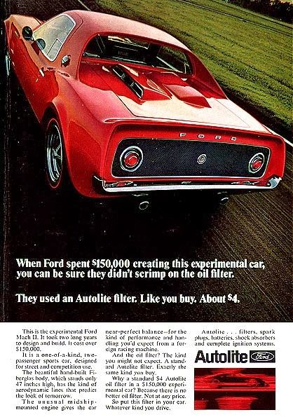 '67 Ford Mustang Mach 2 concept