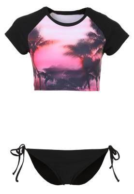 Twintip Performance Bikini Black Pink biquinis Twintip Pink Performance black Bikini Noe.Moda