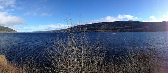 Une journée au lac du Loch Ness