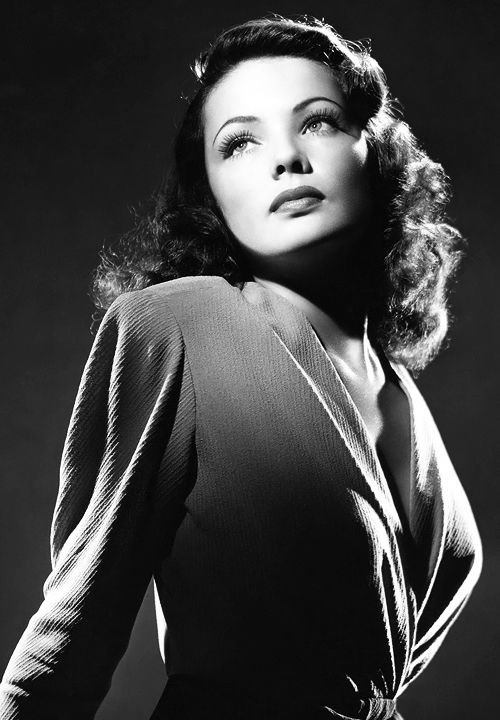 Gene Tierney, classic bombshell.: