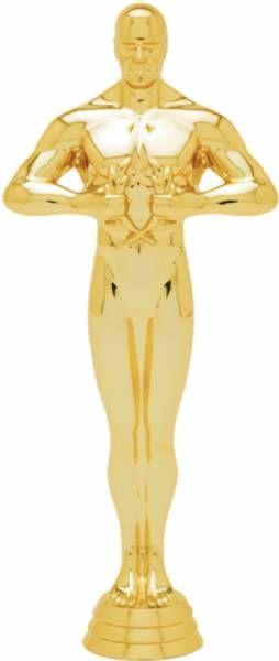 """6"""" Achievement Male Trophy Figure Gold"""