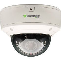 Vitek VTD-TND30R4M2 Transcendent 4 Megapixel H.265 WDR IP Vandal Dome Camera with 30 IR LED Illumination and Motorized Varifocal Lens