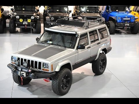 Davis Autosports Lifted Cherokee Xj Sport For Sale Stage 3 Upgrades Youtube Jeep Jeep Cherokee Jeep