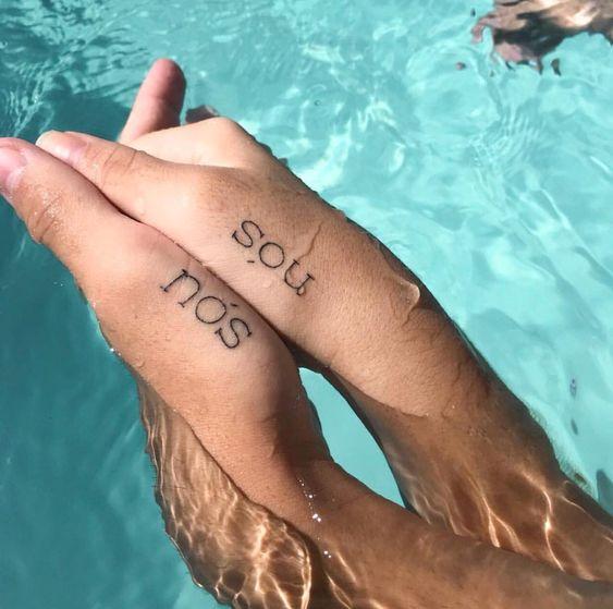Tatuagem de Casal! 6