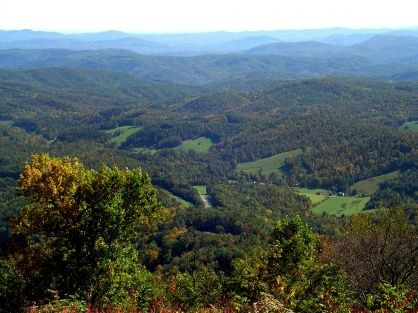We have crawled all over those beloved western North Carolina mountains all the way to Deep Gap pictured here!