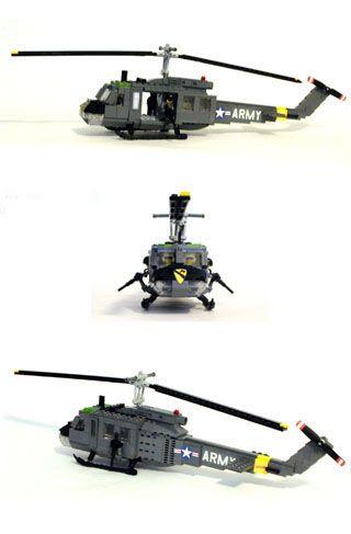 MECHANIZED BRICK Series III Custom LEGO Vietnam Era UH-1D Huey ...