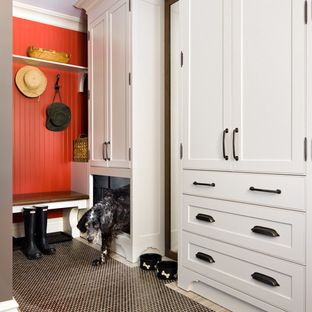 Mudroom Cool Dog Space Love Contrasting Painted