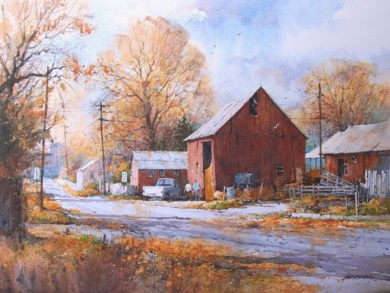 Ian Ramsay Watercolors: I have painted a great deal over the winter. As you will see viewing the following paintings. Spring is a very busy time with shows and workshops to prepare for . My next workshop will be in Provo, Utah on May 14 and 15. If you wish to attend, contact Norma at 801 375 6722. Of the following paintings several are available at my galleries as noted. The rest are available through my studio. If you are interested please contact me at 801 262 9565 in the U.S.A. or via…