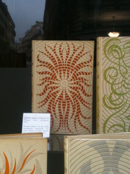 Cartonnages Bonet. - Giono- Librairie Auguste Blaizot