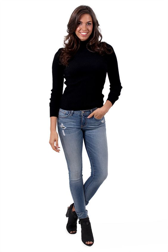 In Luck Valley Blue Skinny Jeans