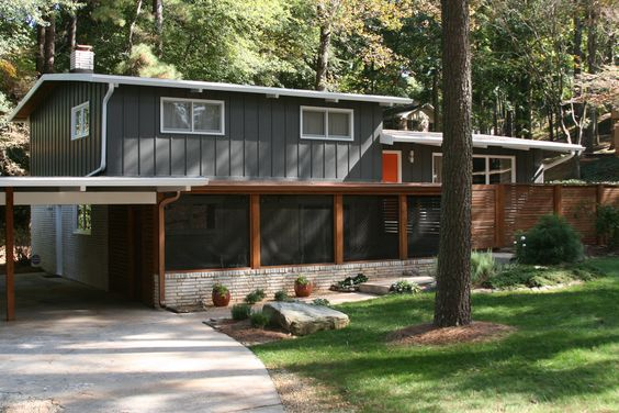 1965 Mid Century Modern House in the Northcrest Subdivision in Atlanta GA - Home of Artezoid by Dawn Valdez