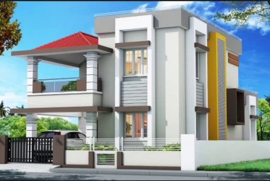 West Facing House Designs West Facing House House Elevation House Front Design