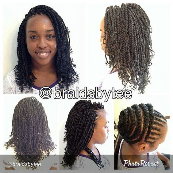 Pre Twisted Crochet Hair Styles : crochet braid pattern kinky curly crochet braids i want to i want ...