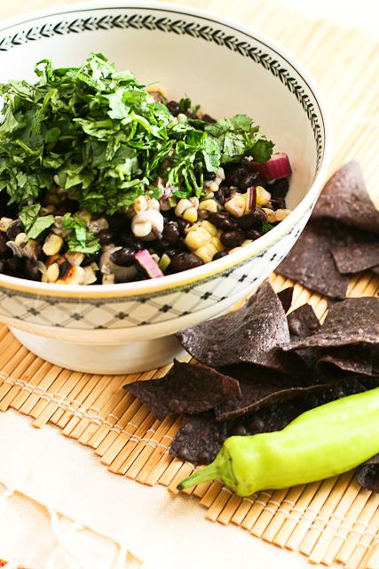 Roasted Corn and Black Bean Salad (3 of 5) by SaraBClever, via Flickr