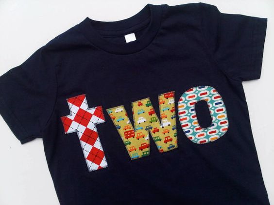 Argyle Cars Pez Lowercase Letters two Birthday Shirt. $26.00, via Etsy.