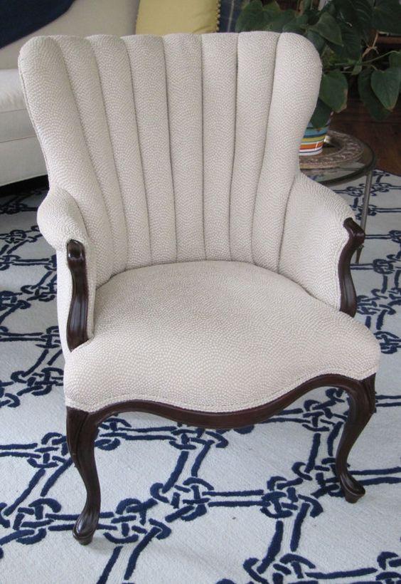 Riverside Channel Back Chair