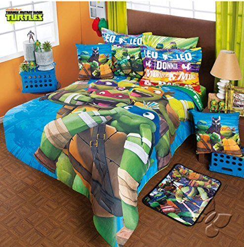 Teenage Mutant Ninja Turtles Original Comforter Set 6 Pcs Twin Price 126 06 Free Shipping Ha Comforter Sets Boys Comforter Sets Kids Bedding Sets