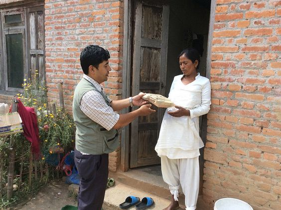 District 325-B1 Lions and Leo Clubs (Nepal) | Distributed emergency sanitation kits and relief medicine to more than 100 families.