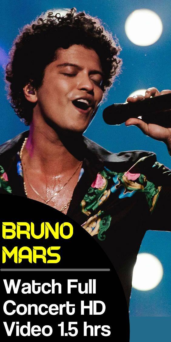 Bruno Mars Full Live Concert 1 Hour 30 Min Live Concert Concert Top Music Videos