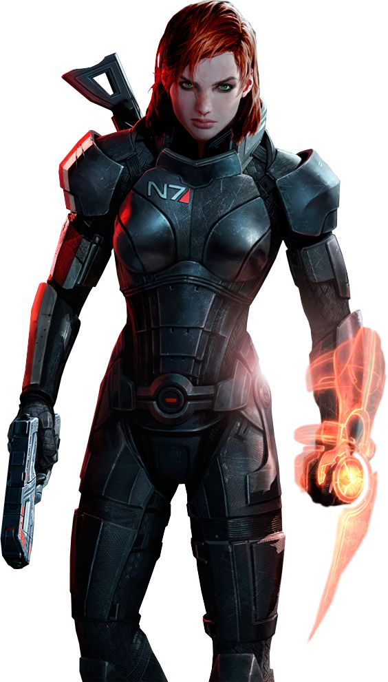 Female Shepard by IvanCEs on DeviantArt