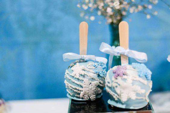 Uma festa congelante - Ana Julia 4 anos | CatchMyParty.com