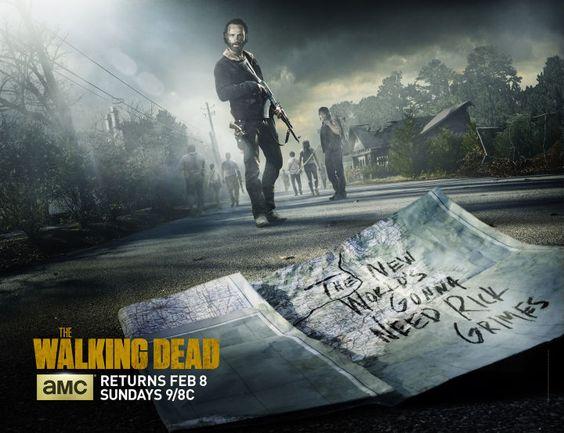 The Walking Dead New Season 5 Winter Poster