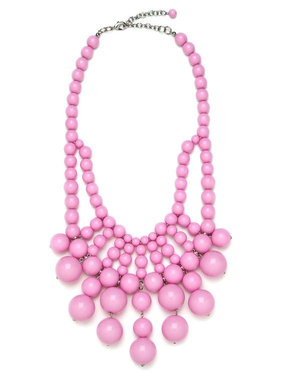 @BaubleBar Bubblegum Bauble Bib #prettyinpink #springfashion