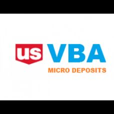 Micro Deposits VBA ( Without Phone )