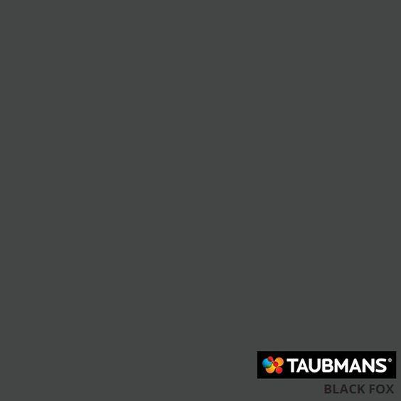 Colour chart colour black and colour on pinterest for Taubmans exterior paint colours