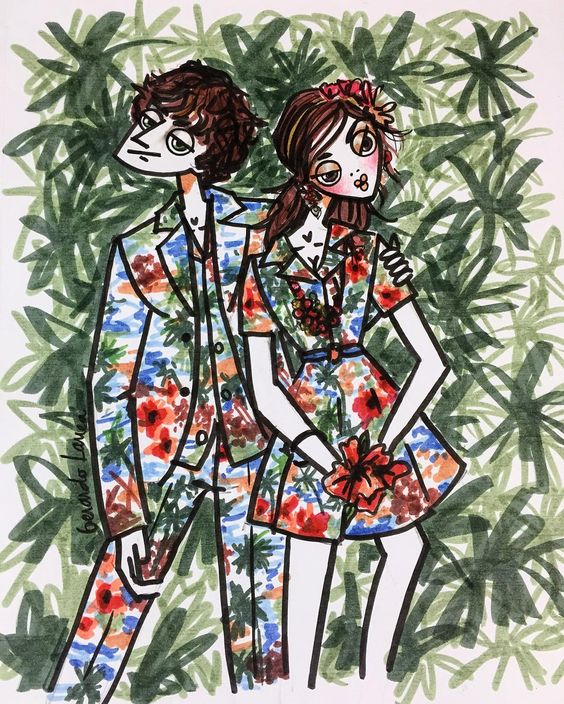 @maisonvalentino Hawaiian Couture Collection Special #valentino #maisonvalentino #hawaiiancouture #hawaiian #couture #tropical #sketch #sketchbook #sketchoftheday #fashionsketch #illustration #fashionillustration #love #likeit #markers #ink #art #artsy #instadaily #igdaily #menstyle #menswear #women by ger_lar