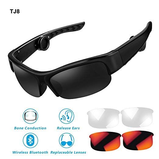 Cycling Glasses Wireless Bluetooth Polarized Outdoor Sport Driving Sunglasses