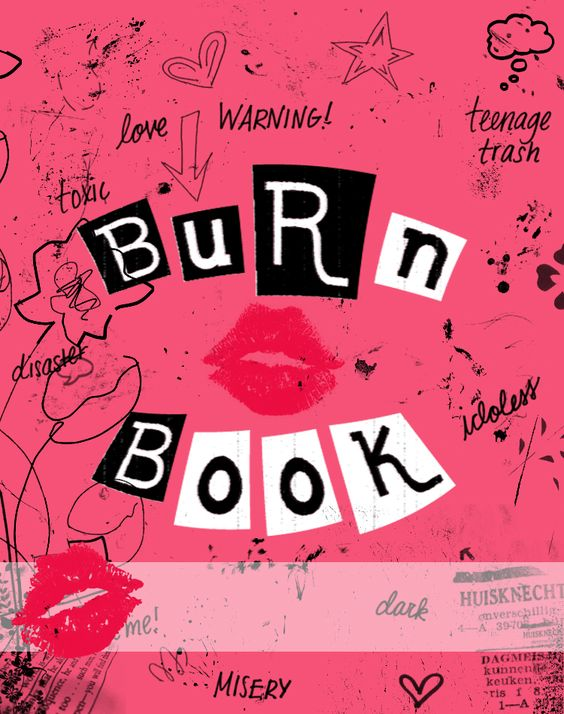 Burn Book Cover Erin Condren Cover Diy Planning 1o1