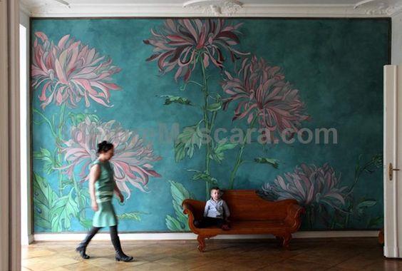 Mimose wall decoration, latex painting on canvas by Berlin based Atelier Wand-lungen #latex #sexy #ladies #women #latexskirt #latexdominate #latexboss #shiny #fashion #latexshopping #buylatex #skirts