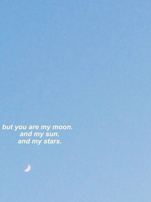 A Poem Quote Aesthetic Blue Aesthetic Words
