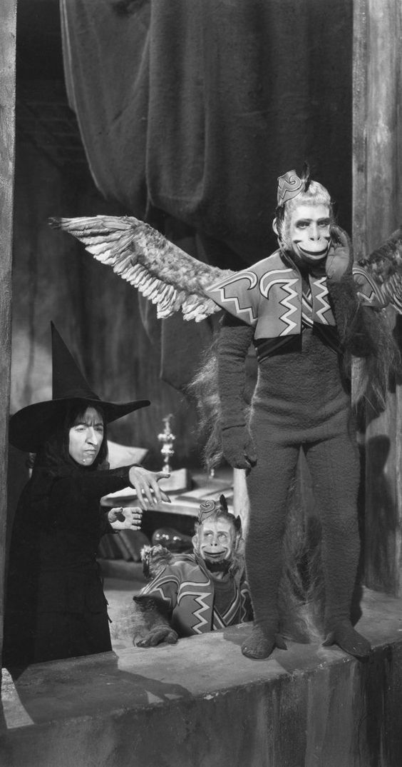 Still of Margaret Hamilton in The Wizard of Oz (1939) and Winged Monkey