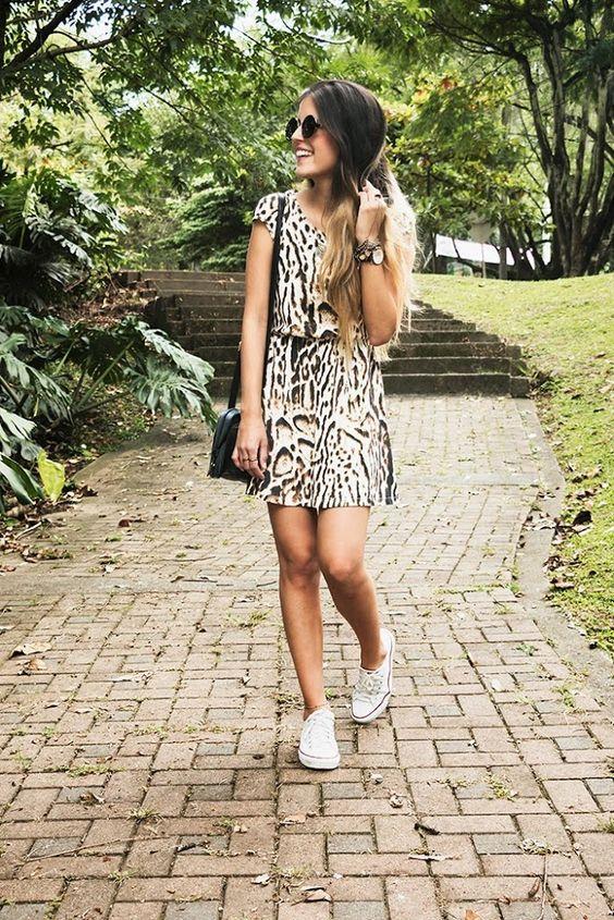 Outfit Vestido Con Tenis Buscar Con Google Fashion Outfits Trendy Fashion