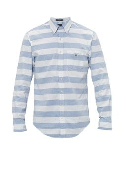 Gant Barstripe Oxford regular fit overhemd