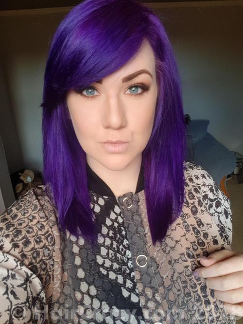 Cmunro Directions Colour Kit Violet Directions Plum Skin Tone Hair Color Deep Violet Hair Green Hair