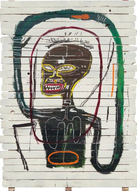 """Flexible"" by Jean-Michel Basquiat (1984)"